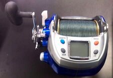 WFT Electra 1200PR HP Electric Fishing Reel Deep Drop SPOOLED W/ 80LB BRAID NEW