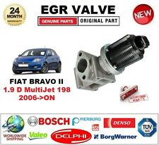 FOR FIAT BRAVO II 1.9 D MultiJet 198 2007-ON EGR VALVE 2-PIN with GASKETS/SEALS