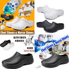 Women Unisex ~l Nursing Kitchen Chef Shoes Hole Clogs Hospital TPR Loafers