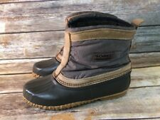 Sorel Insulated Pull On Waterproof Winter Duck Boots Work Barn 9 Kaufman Canada