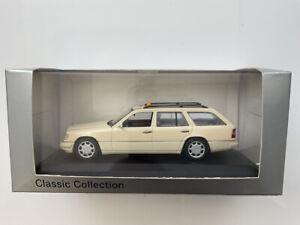 🔴 Minichamps 1:43 Mercedes  W 124 TAXI  RARE Mercedes Museum code B6048021