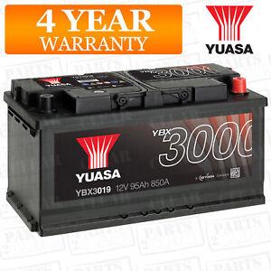 car battery, car YBX3019 12V 95Ah 850A Yuasa SMF 353X175X190mm G3 H3