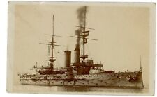 British Navy/Military - HMS PRINCE OF WALES - RPPC Postcard H.M.S./Battleship9.9