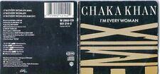 Chaka Khan   CD-Single ( 3Inch)   I'M EVERY WOMAN ( REMIX)  © 1989 WEA 921 214-2