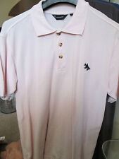 CUTTING EDGE - PALE PINK POLO SHIRT SIZE SMALL