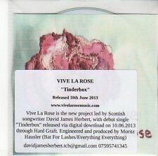 (ED231) Vive La Rose, Tinderbox - 2013 DJ CD