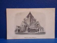 c1906 UDB Pittsburgh PA Postcard/CHRIST ME CHURCH
