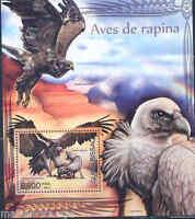 GUINEA BISSAU 2012 BIRDS OF PREY  SOUVENIR SHEET MINT NH