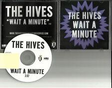 THE HIVES Wait a Minute USA 2012 Rare TST PRESS PROMO Radio DJ CD single MINT