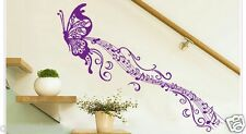 Butterfly Music Removable Wall Sticker Decal Girls Kids Room Home Decor Nursery