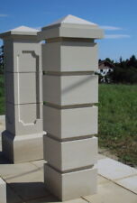 Gate Piers Pillars Cast Stone PG-02