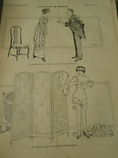 Philosphie de Boudoir Le cadeau pour une femme et d'elle même Print 1910