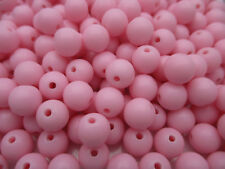 Wholesale New 4mm 6mm 8mm Acrylic Round Loose Spacer Beads DIY Jewellery Hot