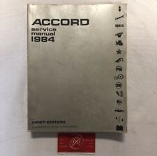 brochure honda auto advertising ebay rh ebay com 74 Accord 83 Accord