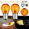 PY21W Amber BAU15S Car Indicator Light Bulbs Signal Turn Lamps 12v