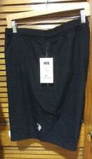 NWT U.S POLO Assn Swim Short elastic waist Drawstring 4XL Black Check Measurment