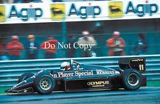Elio de Angelis Lotus San Marino GP 1985 fotografía 3