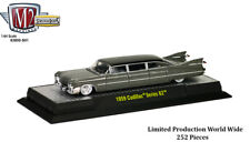 M2 Machines Stretch Rods EXCLUSIVE RELEASE - 1959 Cadillac - Charcoal Gray/Blk