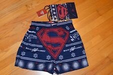 Superman DC Comics Christmas Men's Boxer Size: Large (36-38) New With Tag