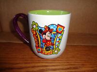 Disney World - Minnie Mouse Coffee Mug - Green / Purple