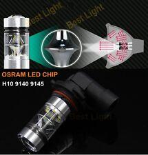 2x75W H10 9140 9145 White OSRAM LED Fog Light For Toyota Tacoma Tundra HUMMER H3