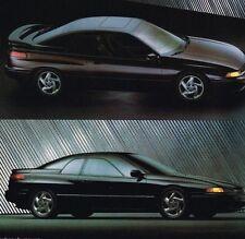 1992 Subaru Brochure / Catalog:SVX,LEGACY,LOYALE,JUSTY,GL,Station Wagon,L,LS,4WD