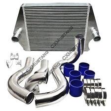 CXRacing Intercooler Kit For 03-07 Ford Super Duty F250 F350 6.0L Diesel V8 Blue