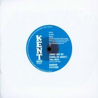 """Darrow Fletcher - (What Are We Gonna Do Abou) (Vinyl 7"""" - 2020 - UK - Original)"""
