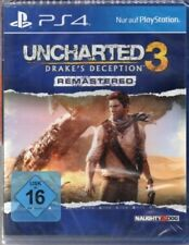 Uncharted 3 - Drake's Deception - Remastered - PlayStation PS4 - deutsch - Neu /
