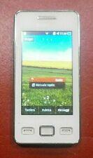 SMARTPHONE SAMSUNG STAR GT-S5260 BIANCO OTTIMO USATO FUNZIONANTE COME NUOVO