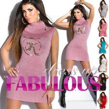 Unbranded Woolen Regular Size Turtleneck, Mock Jumpers & Cardigans for Women