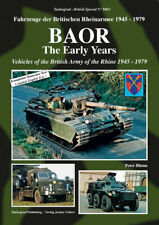 Tankograd 9003 BAOR - The Early Years Vehicles of the British Army of the Rhine