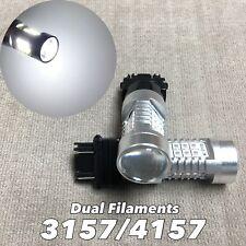 Front Turn Signal Parking Light 6K CANBUS SMD LED Bulb 3157 4157 SRCK W1 T HA