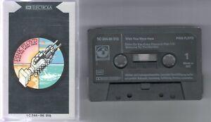 Pink Floyd    MC / Tape / Kassette   Wish you were here       ©   1975     EMI
