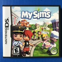 MySims (Nintendo DS, 2007) Video Game Complete W/ Manual tested and works