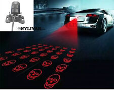 LED Laser Rear Fog Light Anti-Collision Brake Tail Warning Lamp skull For Ford Q
