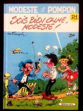 MODESTE ET POMPON R 1 / Sois bien calme..par Franquin - Himalaya 1989 - Bel état