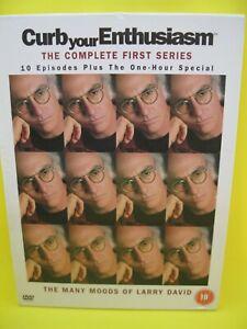 CURB YOUR ENTHUSIASM DVD (REG 2) FIRST SEASON 1 - 2003 LARRY DAVID
