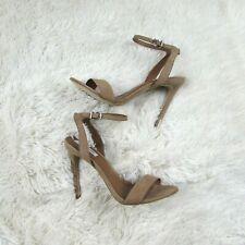 5964bae6a5f Steve Madden Landen Ankle Strap Sandals Heels Open Toe Summer Size 10
