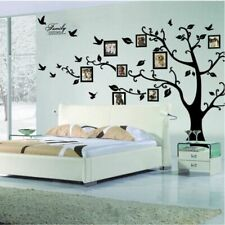 3D Photo Frames Decals DIY Large Family Tree Murals Art Home Wall Decor Stickers
