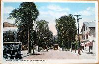 1920 Matawan, NJ Postcard: Main Street - New Jersey