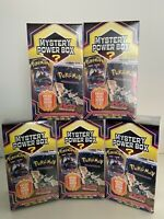5 BOXES Pokemon Mystery Power Box Neo Discovery PACK Vintage Packs Sealed 2020.