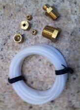 New Sunpro Oil Pressure Gauge Installation Kit 6 Feet 18 Nylon Tubing