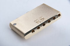 KGC Brass Import Made in Mexico MIM Strat Super Sustain Block - World's Finest