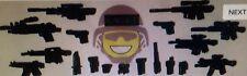 14 Piece Lego Halo megablocks police Swat Weapon Lot New