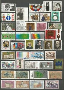 Germany 1978-1981 used Commemorative Stamps #7