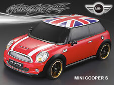 1/10 MINI COOPER S 195mm RC Car Transparent Body Strong Polycarbonate