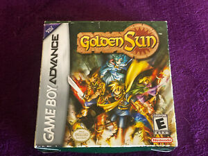 Golden Sun (Game Boy Advance) EXCELLENT Cartridge. Incl. MANUAL. TESTED