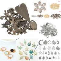 Vintage Jewelry Making Charms Pendants Random Shape DIY Crafts Bracelet Necklace