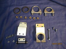 MGB  EXHAUST FITTING KIT 1962-69 CHROME BUMPER